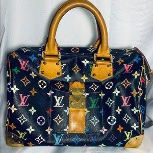 Louis Vuitton Speedy 30 Multi-Colored Bag